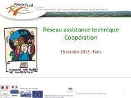 Diapositive 1 - Réseau Rural Français