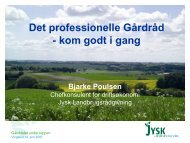 Det professionelle Gårdråd - kom godt i gang Bjarke ... - LandbrugsInfo