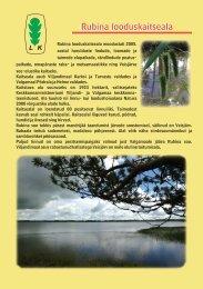 Rubina looduskaitseala - Keskkonnaamet