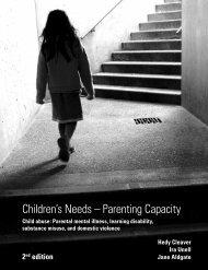 Children's Needs – Parenting Capacity - FAS Aware UK