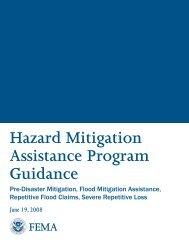 Hazard Mitigation Assistance Program Guidance - Missouri State ...