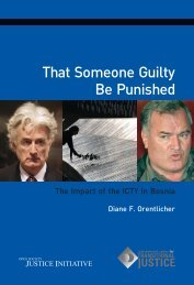 That Someone Guilty Be Punished - Open Society Foundations