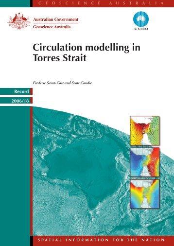 Circulation modelling in Torres Strait - Geoscience Australia