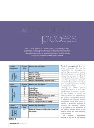 An Integrated Process, written by Donald McNaughton of Oliver Wight