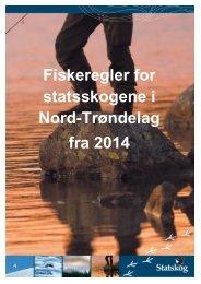 Fiskeregler for Nord-Trøndelag (pdf) - Statskog