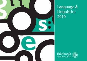 Language & Linguistics 2010 - Library