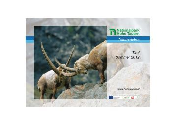 Naturerleben Tirol Sommer 2012 - Nationalpark Hohe Tauern
