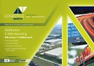 Read the full details in our Logistics North PDF