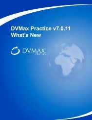 What's New 7.11 (pdf) - DVMAX