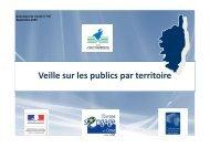 Veille sur les publics par territoire - FIORE-Corse