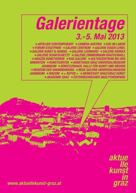 Programm (pdf) zum download - Aktuelle Kunst in Graz