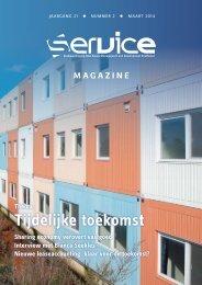 SERVICE Magazine 21.2 - Column, Tijdelijke flexibele oplossingen groeien door verandering - drs. ing. Norbert J.T. Bol