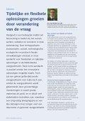 SERVICE Magazine 21.2 - Column, Tijdelijke flexibele oplossingen groeien door verandering - drs. ing. Norbert J.T. Bol - Page 3