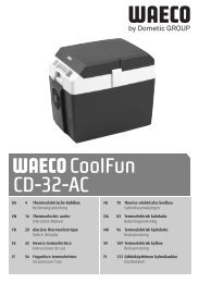 CoolFun CD-32-AC - Waeco
