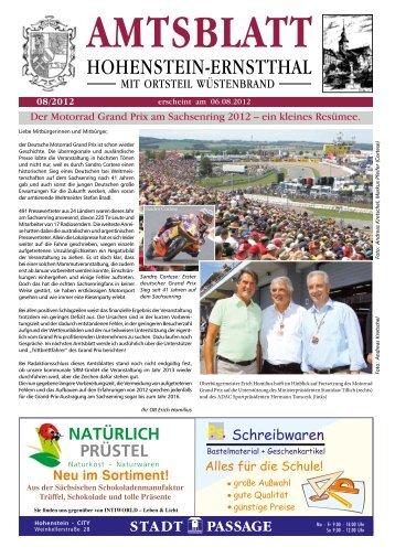 Der Motorrad Grand Prix am Sachsenring 2012 – ein kleines ...