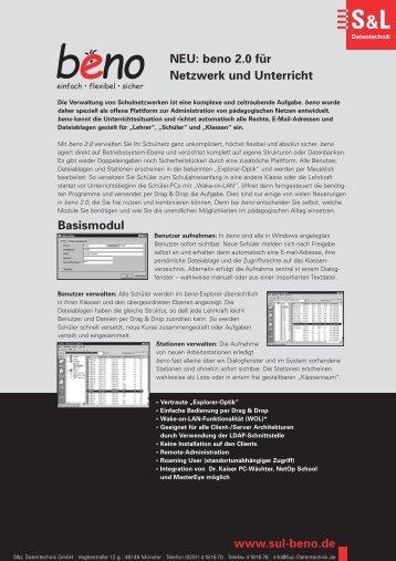 Alle Flyer komplett-3 - S&L Datentechnik GmbH