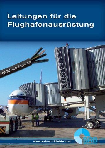 leitungen für die flughafenausrüstung - Handling