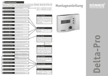 Montageanleitung - Solar Steiner