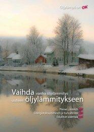 Vaihda vanha öljylämmitys uuteen - Rakentaja.fi