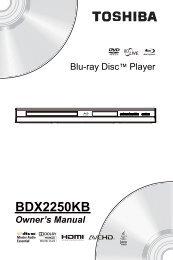 BDX2250KB - Toshiba