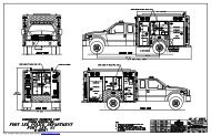 Download complete drawings of this truck. - Rescue 1