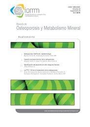 Nº 3 Español - Revista de Osteoporosis y Metabolismo Mineral
