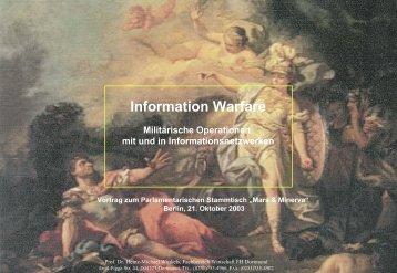 Vortrag - Prof. Dr. Heinz-Michael Winkels