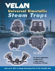 Velan Universal Bimetallic Steam Traps