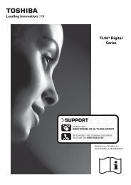 TL96* Digital Series - Toshiba