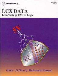 Motorola - LCX data - Low voltage CMOS logic - br1339rev3 - Italy