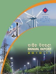 Annual Report 2010 - Orissa Electricity Regulatory Commission