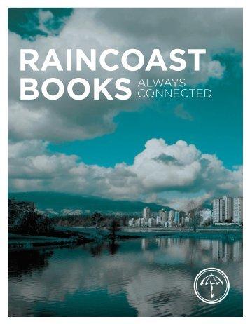 download our PDF brochure - Raincoast Books