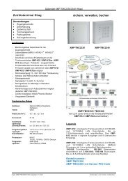 Datenblatt XMP-TMC2330/2340 (Hitag)