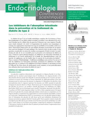 Les inhibiteurs de l'absorption intestinale dans la prévention et le ...