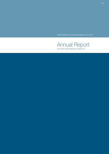 ERMA New Zealand Annual Report 2011 - Environmental Protection ...