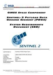 GSC Sentinel-2 PDGS SRD - emits - ESA