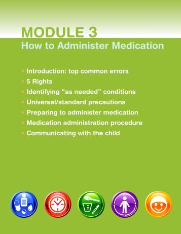 How to Administer Medication - Healthy Child Care America