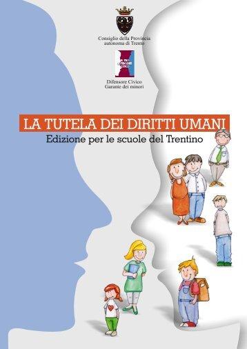 La tutela dei diritti umani - Edizione per le scuole del Trentino