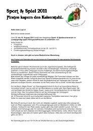 Einladung + Wegbeschreibung - Landjugend Königschaffhausen