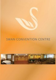 Swan Convention Centre - The Sunway Group