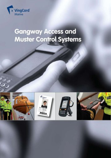 Gangway Access and Muster Control Systems