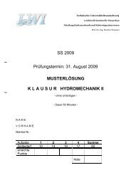SS 2009 Prüfungstermin: 31. August 2009 MUSTERLÖSUNG ...