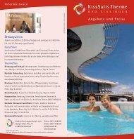 Angebote und Preise - KissSalis Therme