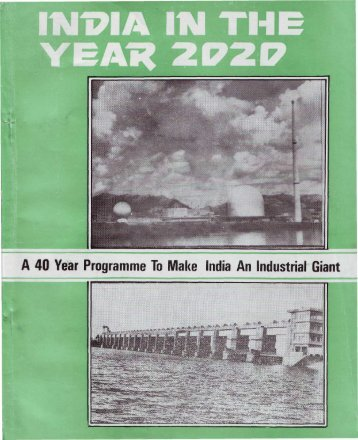 A 40 Year Programme To Make India An Industrial Giant