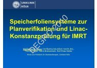 Konstanzprüfung für IMRT - Wcenter.de