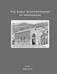 The Early Electrification of Anchorage - The USARAK Home Page ...