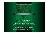 Assessment of surveillance networks - Caribvet