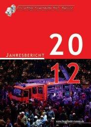 Jahresbericht der Feuerwehr Russee über 2012 als pdf - Freiwillige ...