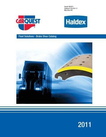 Fleet Solutions - Brake Shoe Catalog - CARQUEST Auto Parts