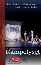 Tidsskriftet Rampelyset, april 2012 - 4 MB - DATS